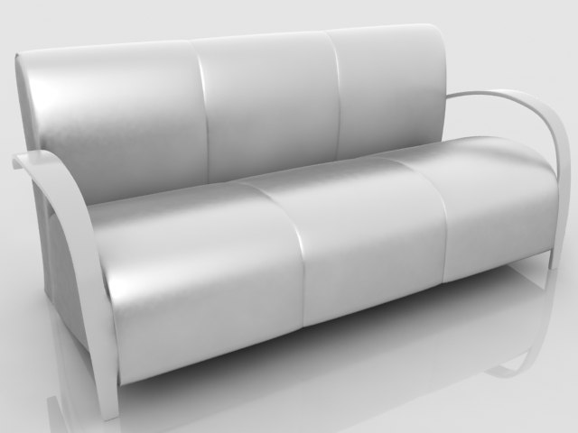 3dsmax sofa sections