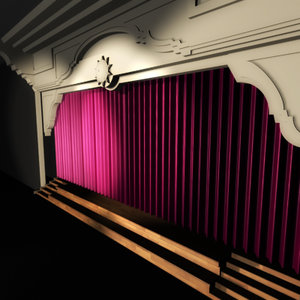 3d stage theatres curtains