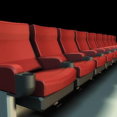 maya theatre seats