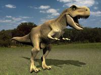 3ds max t-rex