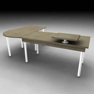 table office 3d model