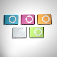 3d ipod shuffle model