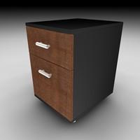 mobile cabinet 3d c4d