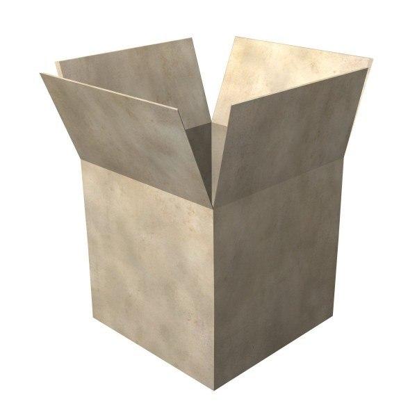 3d box paper