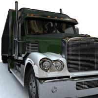 3d model freightliner coronado