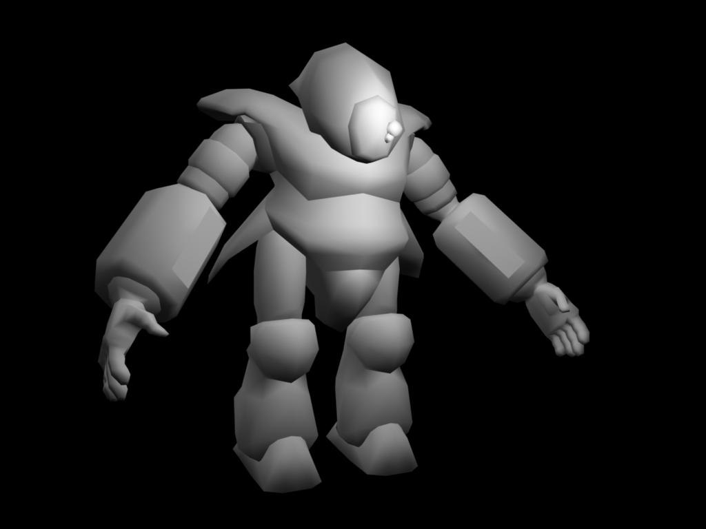 3d space suit marine model
