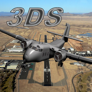 dehavilland caribou transport 3d model