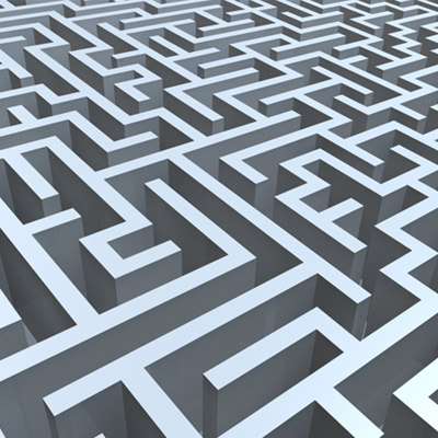 3d model maze