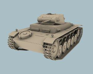 3d panzerkampfwagen ii sd kfz model