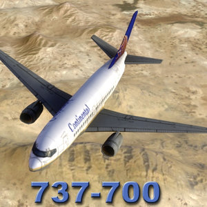 max 737-700 airliner