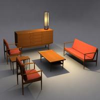 Danish Modern Livingroom Set