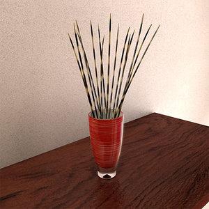 vase porcupine quills max