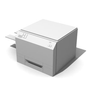 3d model photocopier copier