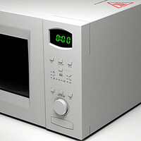 microwave oven micro 3d model