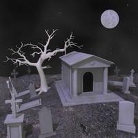 3d dxf gravestone cemetery grave