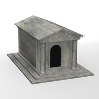 grave crypt 3d model