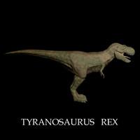 tyranosaurus saurus 3d model