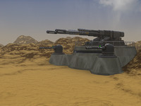 deasert bunker and artilery.max