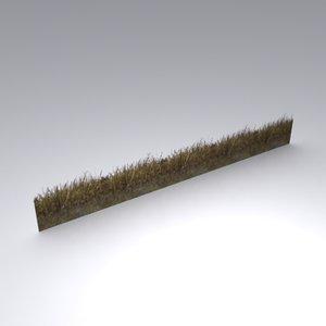 weeds grass 3d max