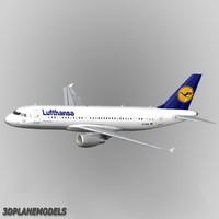 Airbus A-320 Lufthansa