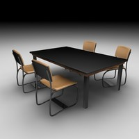 Table and chairs I