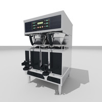 commercial coffee brewer 3d 3ds