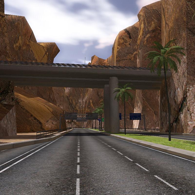 road track 3d model