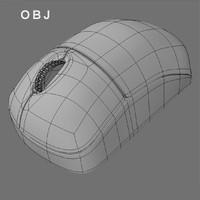 3d pc mouse model