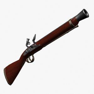 3d firearms rifle