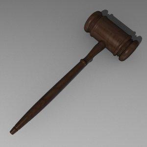 3d hammer auction justice