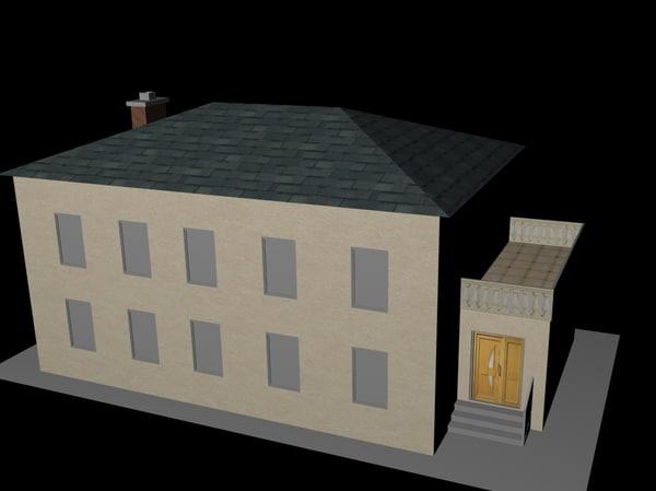 3d max house presidio