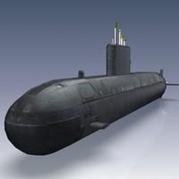Victoria Class Submarine