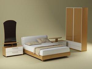 3d model bedroom suite kerry bonus