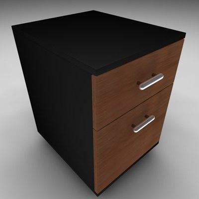 mobile cabinet 3d model