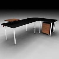 table office set 3ds