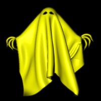 3d ghost spooky castle model