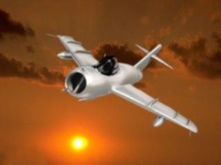 3d model jet mig17 aircraft
