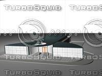 3ds max car showroom