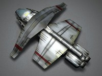 3d cargo spacecraft