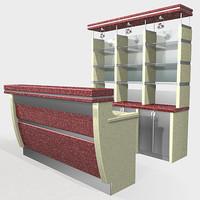 3d bar model