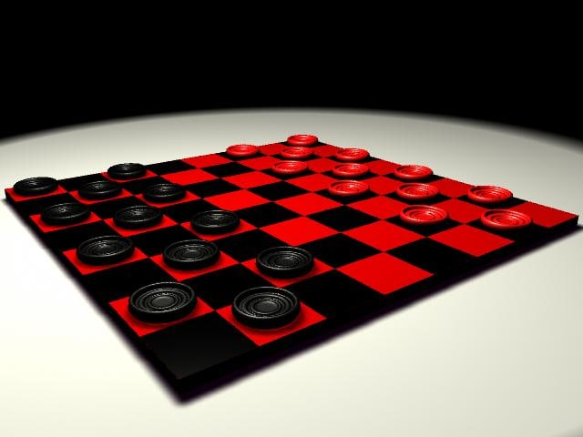 checkers games 3d ma