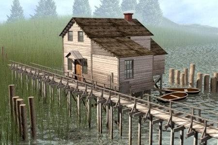 old house 3d model