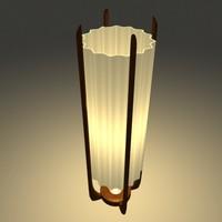 Danish Modern Floor Lamp (V.H.Woolums)