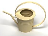 water flowerpot 3d model