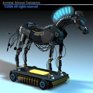 trojan horse 3d 3ds