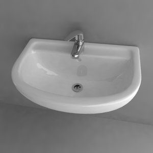 3ds max basin sink
