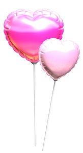 maya heart balloon