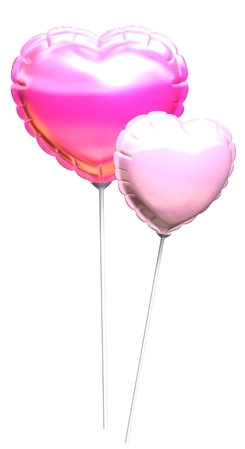 maya heart balloon
