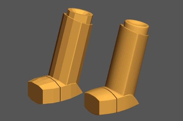 3d asthma inhaler