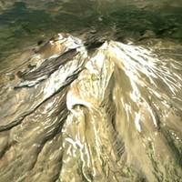 Mt Shasta 3D Model